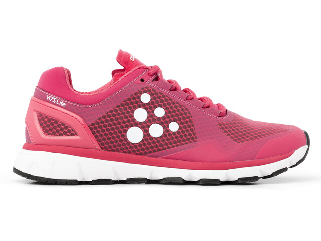 Craft V175 Lite Zapatillas running Mujer, pink rose/white